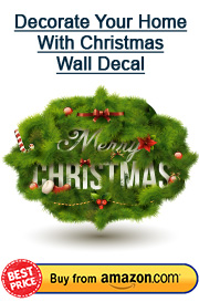 christmas wall decal