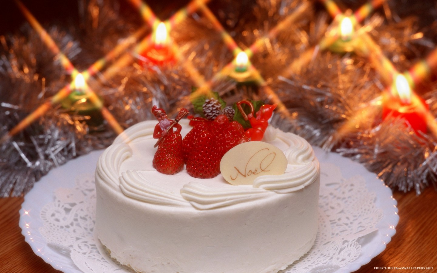 Free Download Christmas Cake Images : Christmas Cake 1440x900 - Wallpaper ...