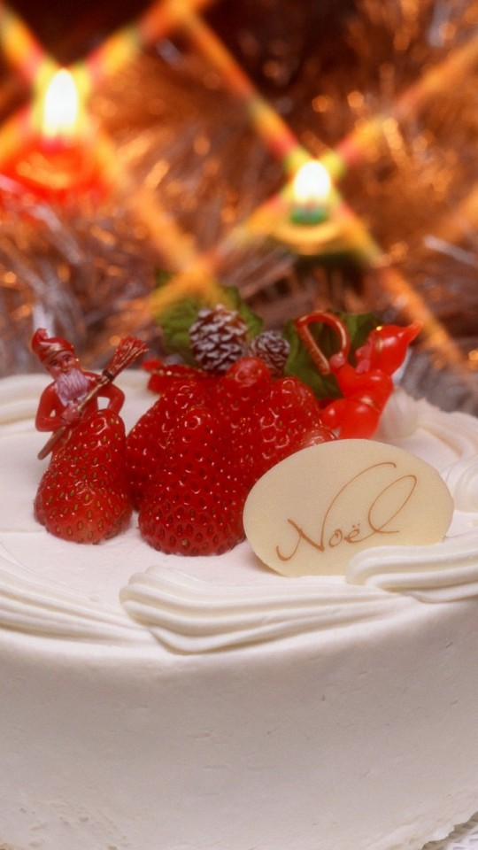 Free Download Christmas Cake Images : Christmas Cake - Wallpaper - FreeChristmasWallpapers.net