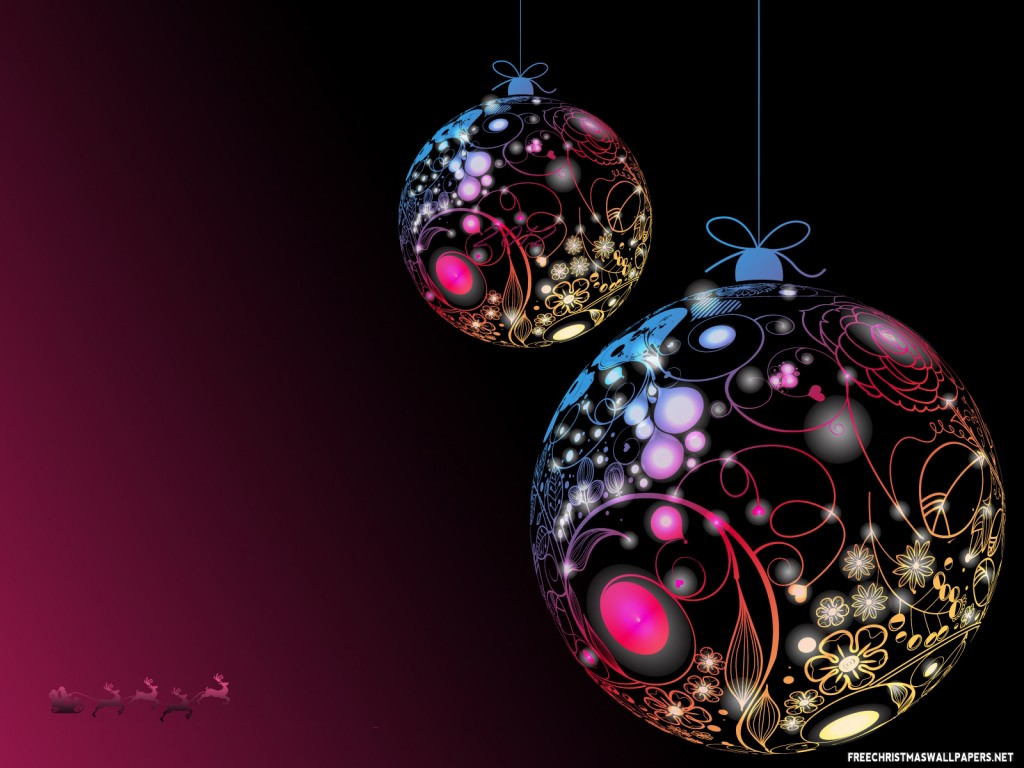 christmas ornaments wallpaper 8026 - photo #8