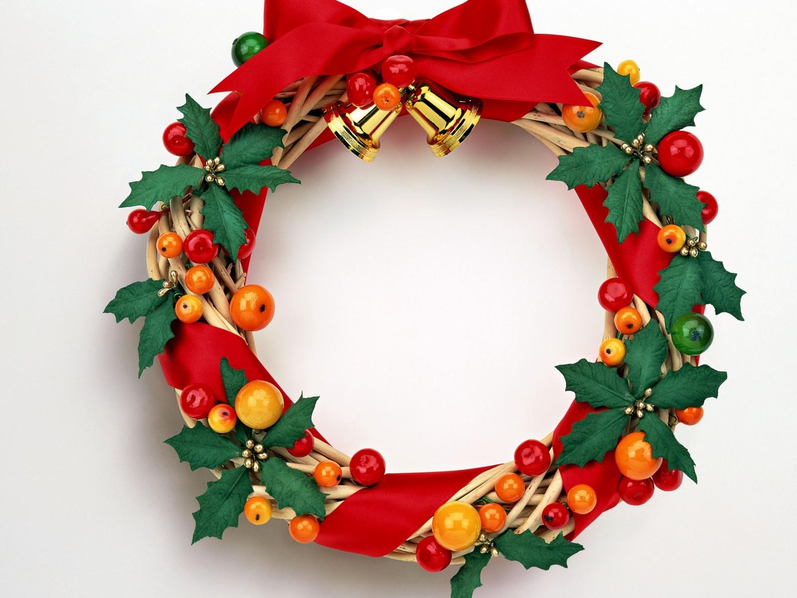 Nice Christmas Wreath 1600x1200 - Wallpaper ...