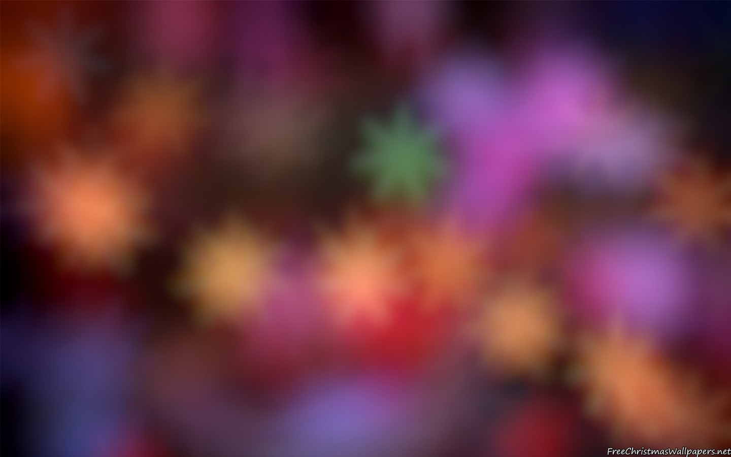 Blurred Celebratory Christmas