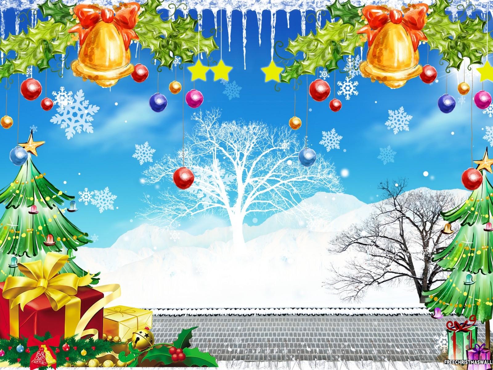 Christmas nature and gifts 1600x1200 wallpaper - Christmas nature wallpaper ...