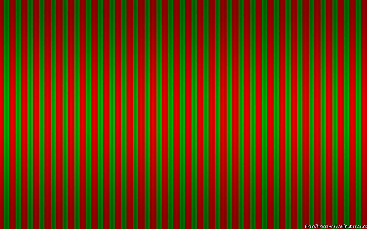Christmas Stripes Background
