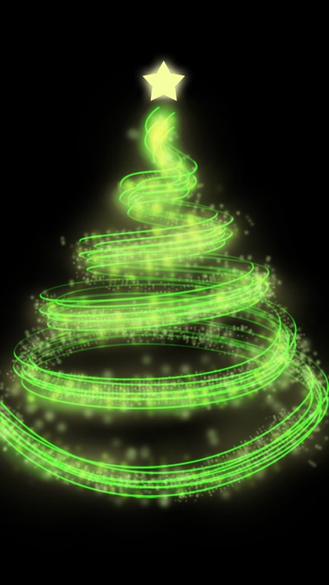 Futuristic Christmas Tree