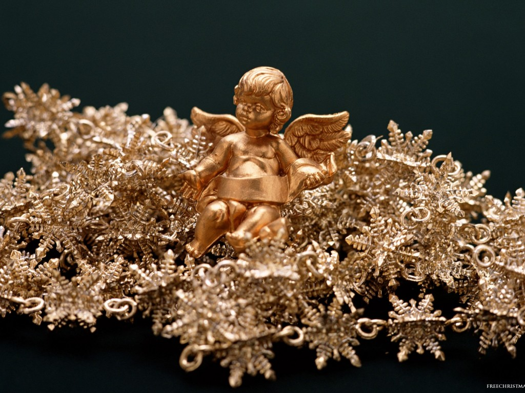 Gold Christmas Angel