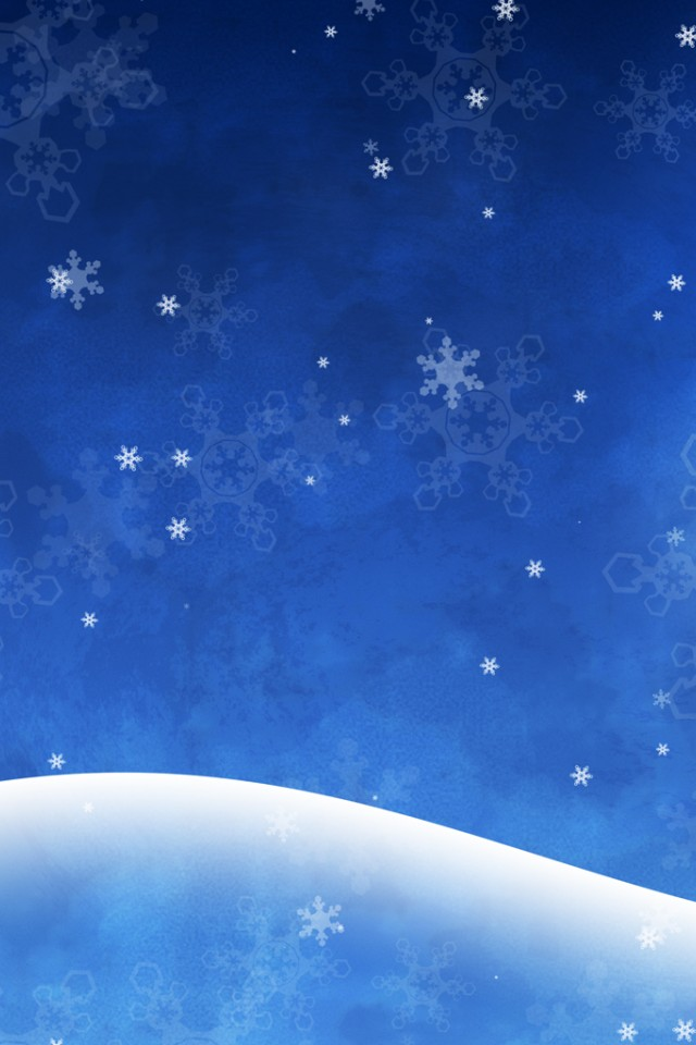 Grunge Winter Christmas Background