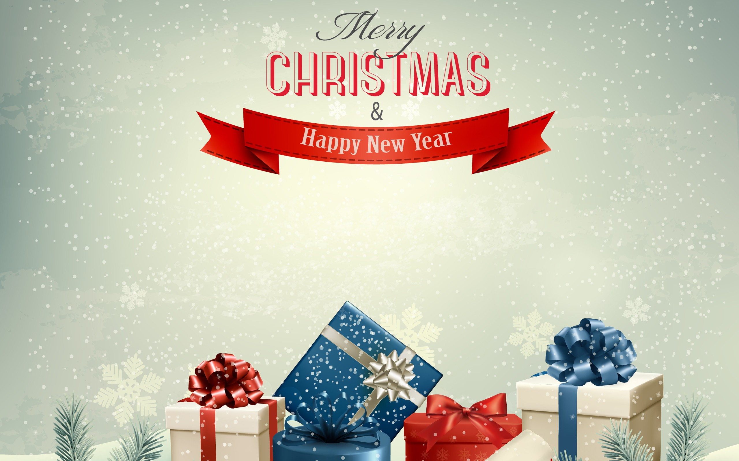 merry christmas and happy new year presents press the download button to save or desktop users right click to save or set as desktop background