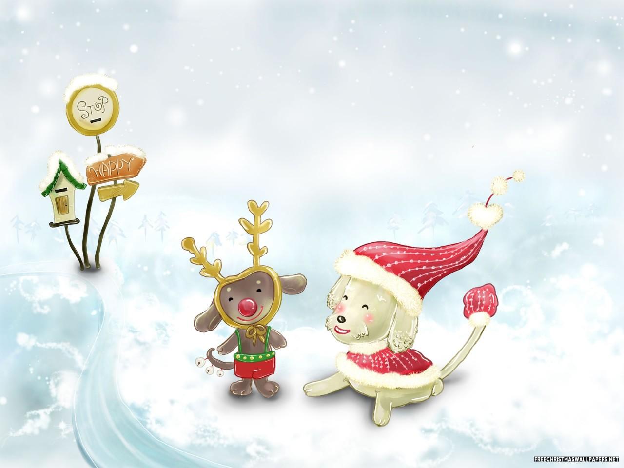 Merry Christmas Greetings 1280x960 Wallpaper