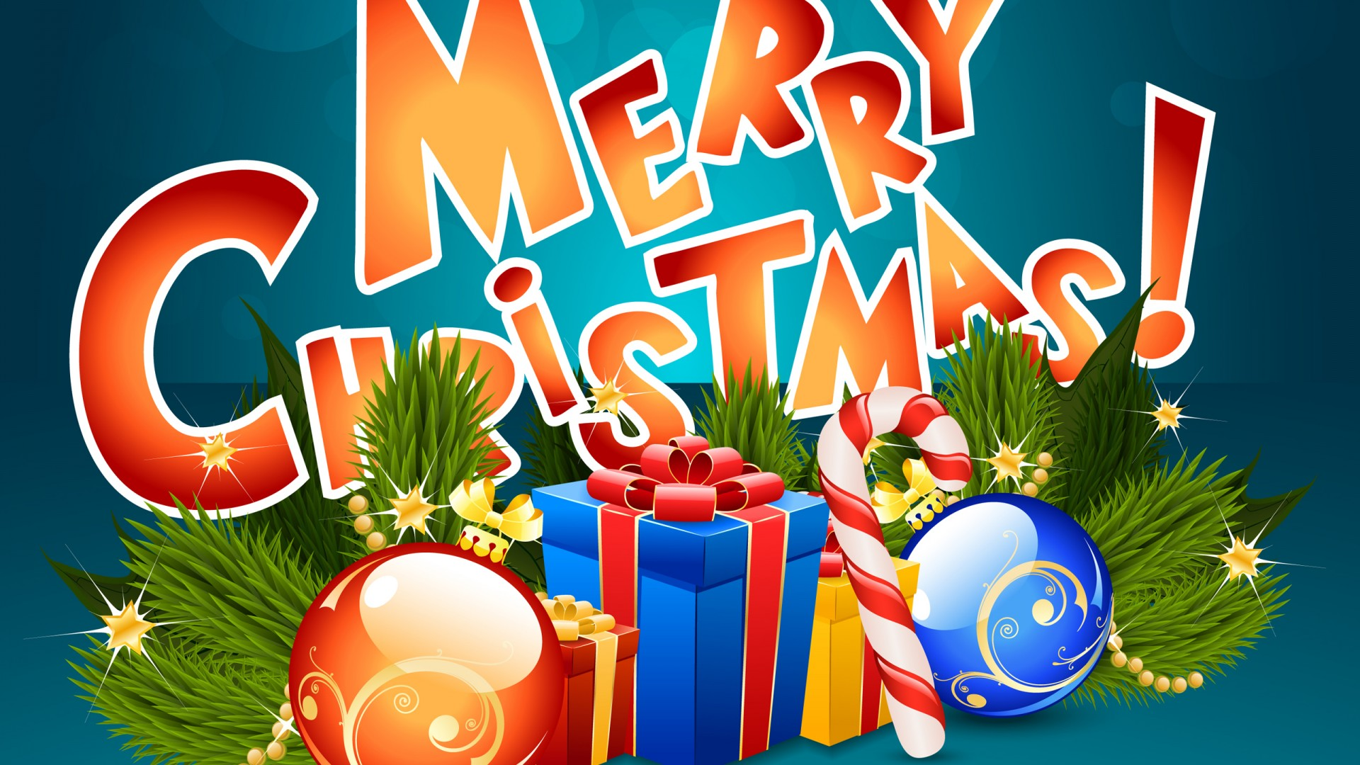 Christmas Images Hd Download.Merry Christmas Hd Presents 1920x1080 1080p Wallpaper