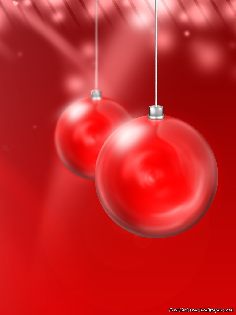 Red Christmas Ball Ornament