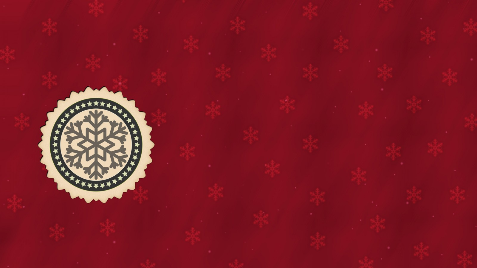 red hd christmas background 1600x900 - wallpaper