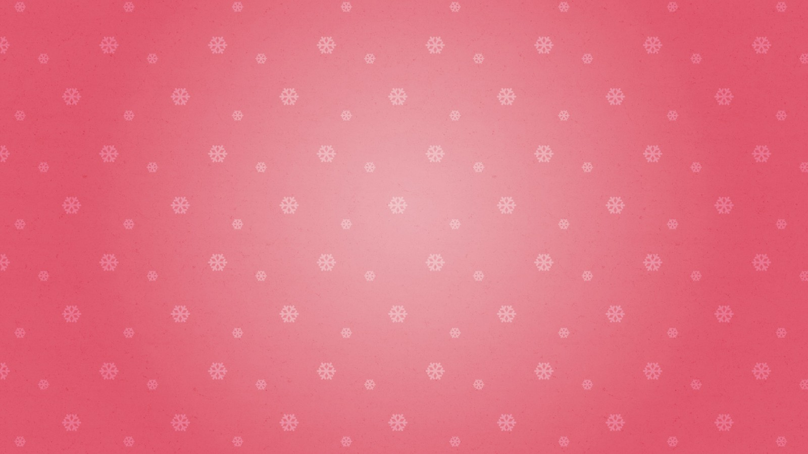 Red Snowflakes Pattern
