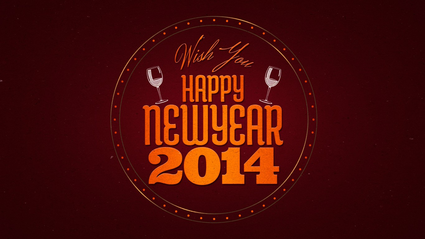 Wish You A Happy New Year 2014