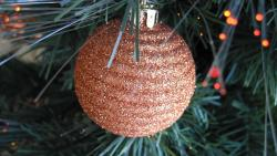 Bronze Christmas Ball