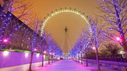 Christmas London Eye
