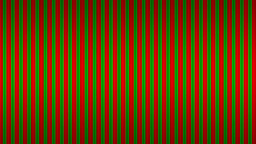 Christmas Stripes Desktop Wallpaper
