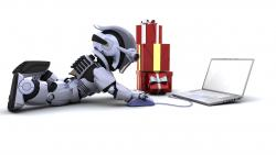 Online Christmas Shopping Robot